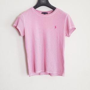 Ralph Lauren Pink Stiped Tshirt